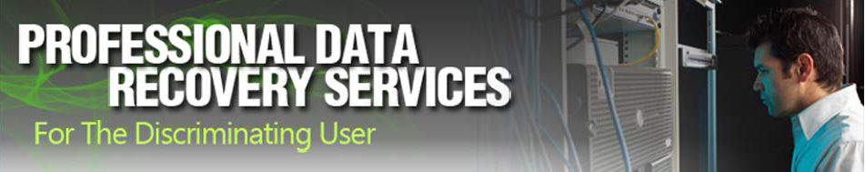 Low cost, professional data recovery services.